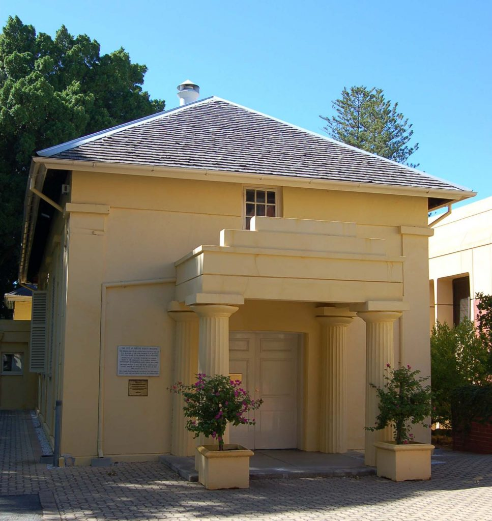 The Old Court House - the oldest standing building in the city centre